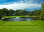 18th hole at White Beeches Golf and Country Club