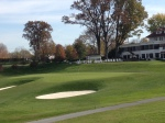 Columbia Country Club's 18th hole.